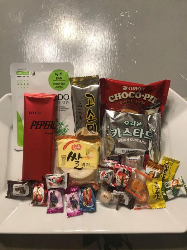 OMG My Seoul Silver Level Korean Snack and Gift Box 2